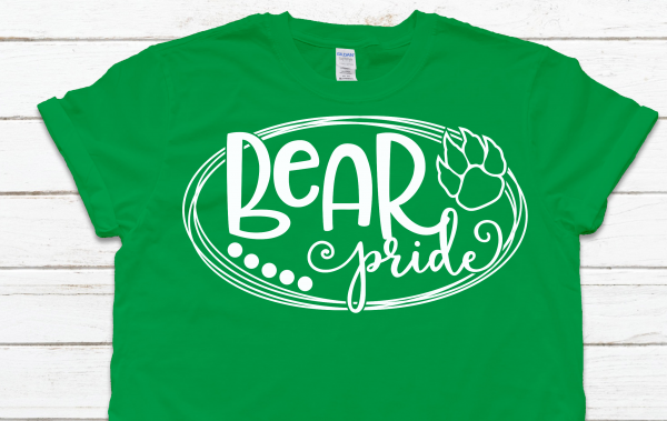 Bear Pride Green Tee