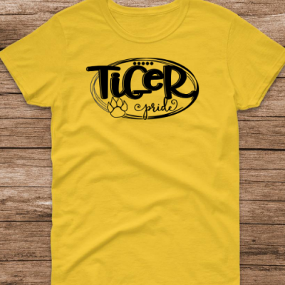 Tiger Pride Yellow Tee