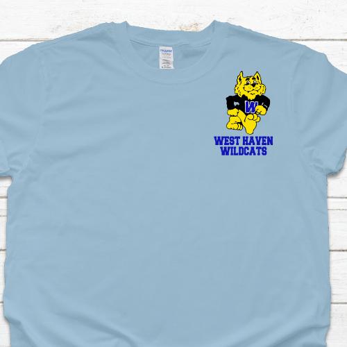 WH Wildcat LC Light Blue Tshirt