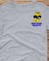 WH104-West Haven Wildcat T-shirt