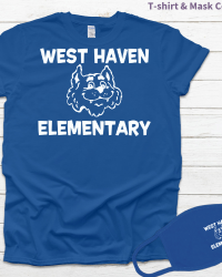 WH102-West Haven Elementary Tee/Mask Combo