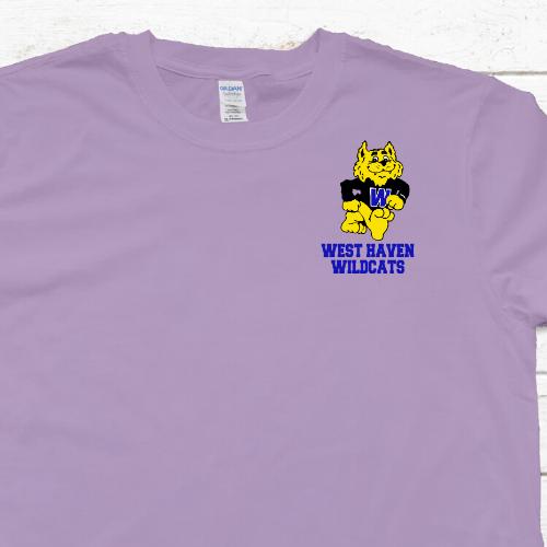 WH Violet LC Wildcat Tshirt