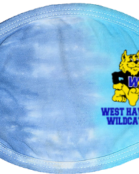 WH105-West Haven Wildcat Face Mask