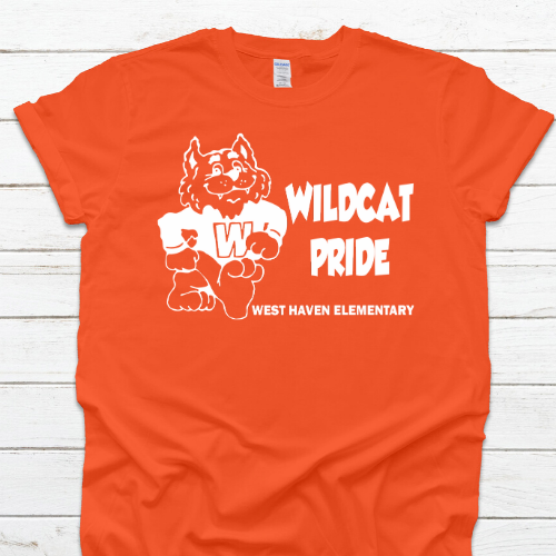 WH Wildcats Orange Tshirt