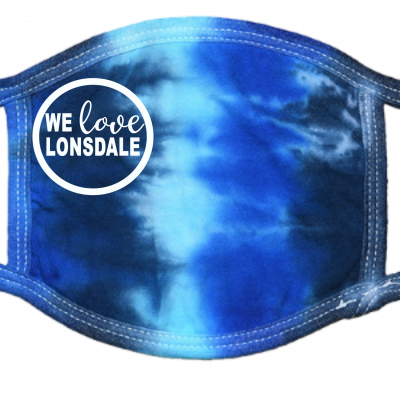 We Love Lonsdale Blue TD Mask