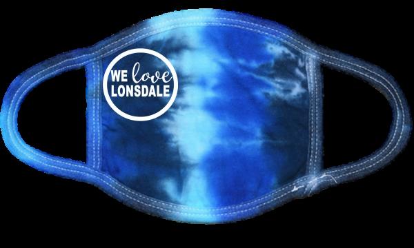 We Love Lonsdale Blue TD Mask
