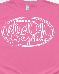 WV100-Wildcat Pride T-shirt