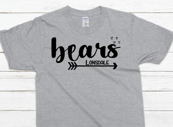bears with arrow underneath sp gray