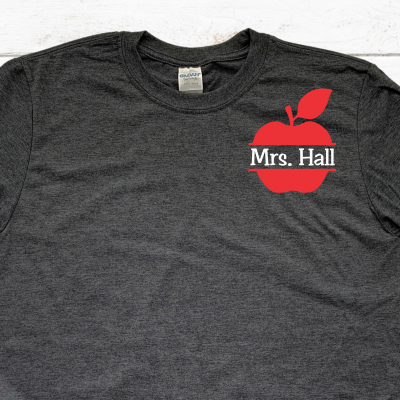 Personalized Teacher Tshirt
