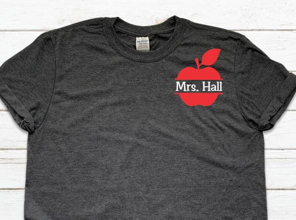 Personalized Teacher Tshirt