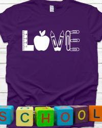ED210-LOVE Teacher T-shirt