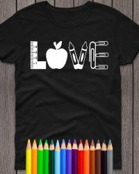 ED210-LOVE Teacher T-shirt
