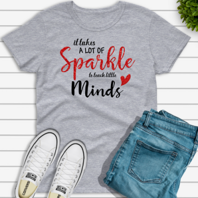 Lot of Sparkle Teacher Tshirt