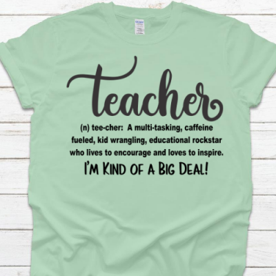 Teacher Big Deal Mint