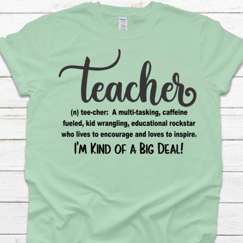 Teacher Big Deal Mint