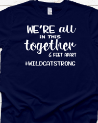 WH106-We're All In This Together T-shirt