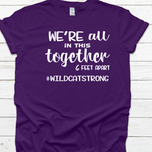 In this together purple