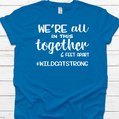 In this together royal tee