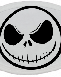 HA107-Jack Skellington Face Mask