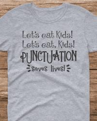HA101-Let's Eat Kids! T-shirt
