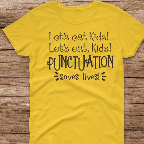 Lets eat kids yellow