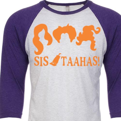 Sistaahs Purple Raglan
