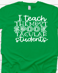 HA103-I Teach Spooktacular Students T-shirt