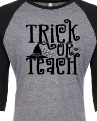 HA105-Trick or Teach T-shirt