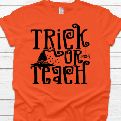 Trick or Teach Orange