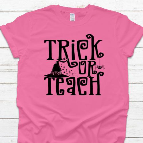 Trick or Teach Pink