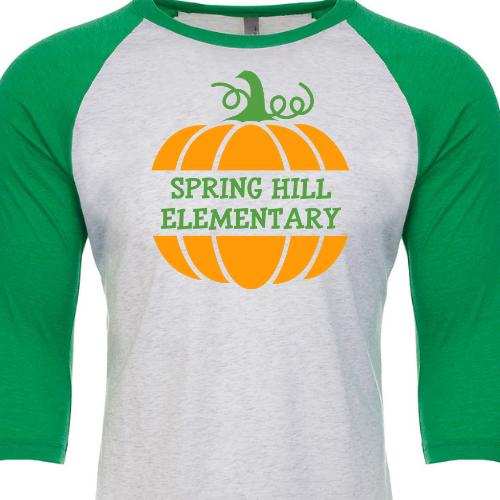 School Pumpkin SHES