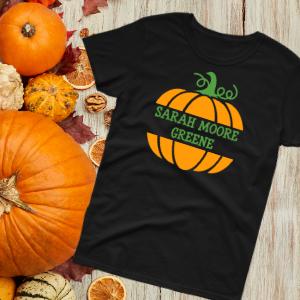 School Pumpkin Tee SMG