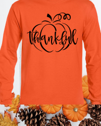 TK100-Thankful Long Sleeve Tee