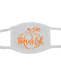 TK101-Thankful Pumpkin Face Mask