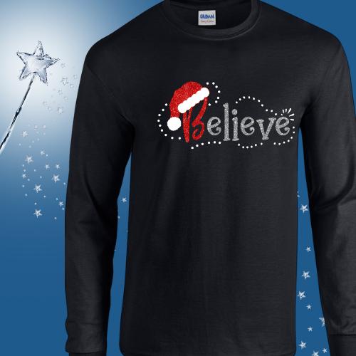 Glitter Believe Long Sleeve