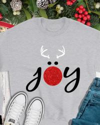 CH507-Reindeer Joy Sweatshirt