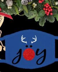 CH507M-Reindeer Joy Face Mask
