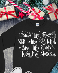CH501-Love Like Jesus Christmas Tee