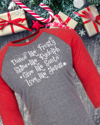 CH501-Love Like Jesus Christmas Tee