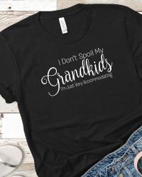 MG-240-I Don't Spoil My Grandkids Soft T-shirt