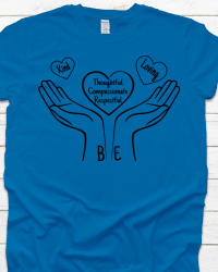 KND3-Kindness Hands and Heart Tee