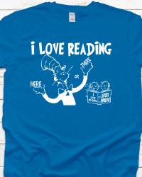 DRS2-Dr. Seuss I Love Reading Tee