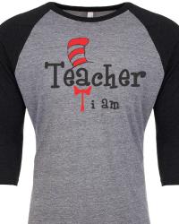 DRS3-Dr. Seuss Teacher I am Tee