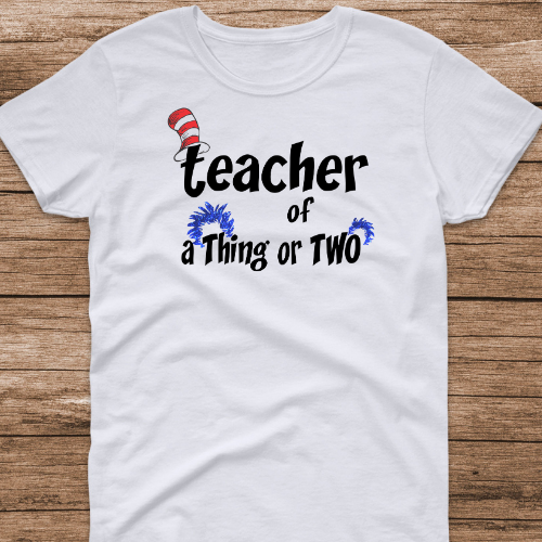 Teacher of a Thing of Two White