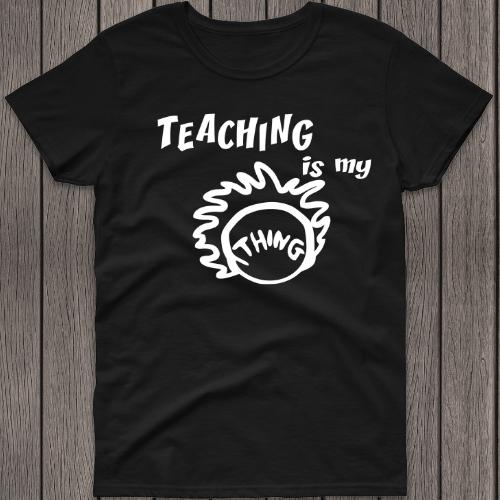Teaching is my Thing Black SS