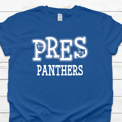 PRES Panthers Face Tee