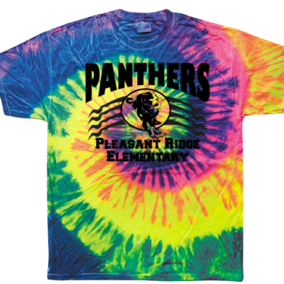 Mean Panther Tee Tie Dye