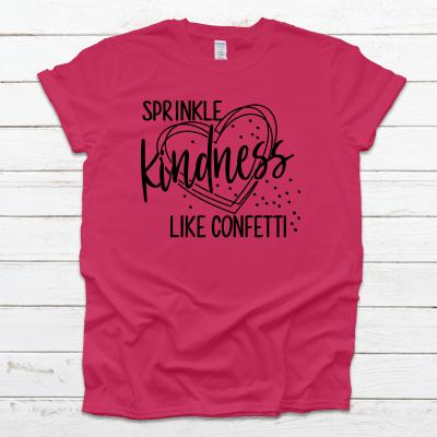 Sprinkle Kindness Pink Tee